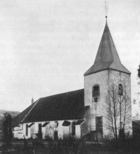 Kirche, Ansicht von Nordwesten, 1915