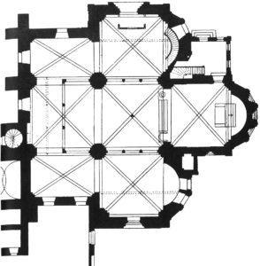 Kirche, Grundriss, 1899