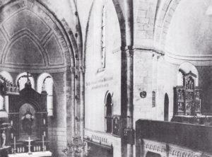 Kirche, Blick in den Chorraum, 1899