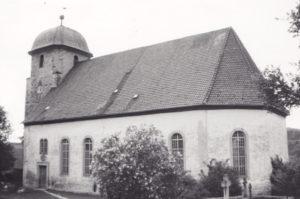 Kirche, Ansicht von Südosten, 1971