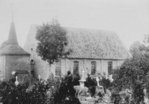 Kirche, Ansicht von Südwesten, vor 1902