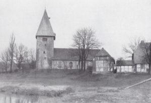 Kirche, Ansicht von Süden, Foto: Arnold Nöldecke, 1927-37
