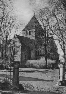 Kirche, Ansicht von Südosten, 1966