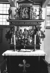 Altaraufsatz, um 1960