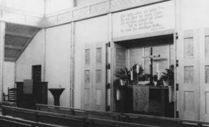 Blick auf den Altar, 1952