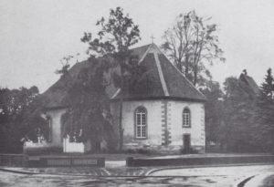 Kirche, Ansicht von Südosten, 1968