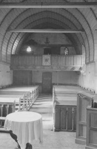 Kapelle, Blick nach Westen, Foto: Ernst Witt, Hannover, Juni 1951