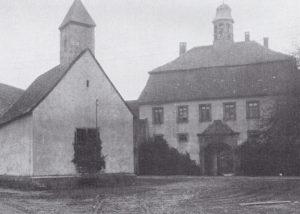 Kapelle, Ansicht von Nordwesten, 1931