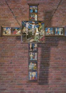 Kreuz über dem Altar, nach 1965