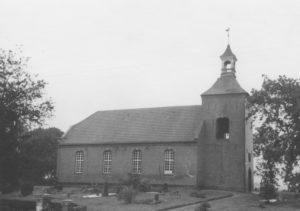 Kapelle, Ansicht von Nordwesten, um 1964