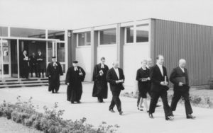 Einweihung des Gemeindehauses 1968, 1968