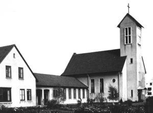 Kirche, Außenansicht, 1968