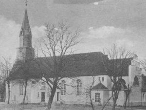 Kirche, Ansicht von Südosten, 1938
