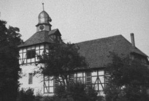Kirche, Ansicht von Südosten, um 1953
