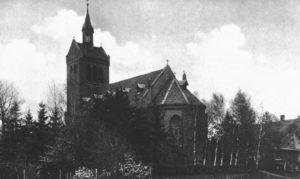 Kirche, Ansicht von Südosten, 1948
