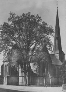 Kirche, Ansicht Nordosten, 1957