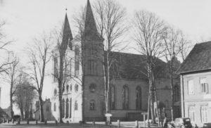 Kirche, Ansicht von Nordosten, 1950
