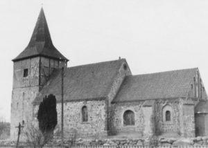 Kirche, Ansicht von Südosten, 1951 (?)
