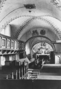 Kirche, Blick zum Altar, 1951 (?)
