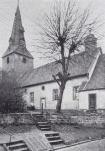 Kirche, Ansicht von Südosten, 1933 oder 1936