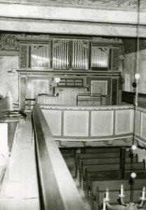 Blick zur Orgel, vermutlich 1975