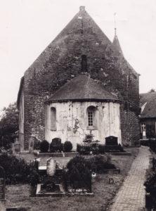 Kirche, Ansicht von Osten, 1956 (?)