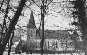Kirche, Ansicht von Süden, 1983