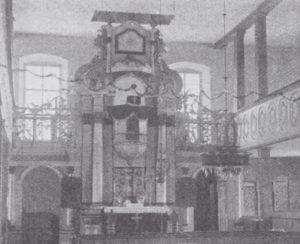 Kanzelaltar, Foto: W. Röpke, 1907