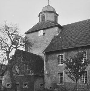 Kirche, Ansicht von Südwesten, 1961