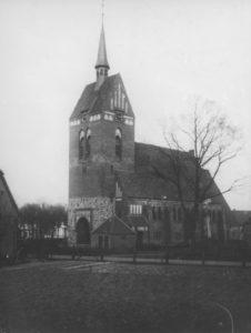 St.-Antonius-Kirche, Ansicht von Südwesten, 1907/08