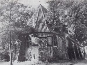 alte Kirche, Ansicht von Nordosten, Zustand 1911