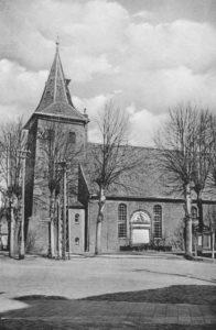 Kirche, Ansicht von Südwesten, Teilansicht, 1940