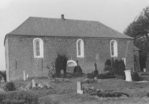 Kapelle, Ansicht von Südwesten, um 1964