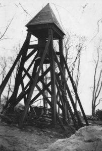Glockenturm, Postkarte, 1953 (?) bzw. vor 1954