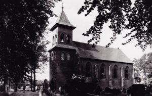 Kirche, Außenansicht, Postkarte, nach 1954