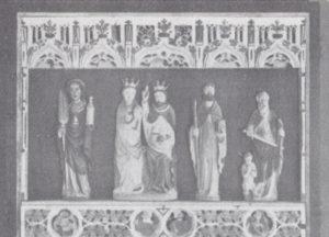 Altaraufsatz, 1933 oder 1936