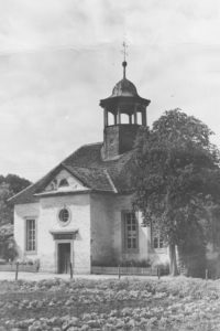 Kirche, Außenansicht, 1954 (?)