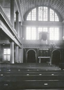 Kirche, Blick zum Altar, 1935, Urheberrecht: Bildarchiv: Niedersächsisches Landesverwaltungsamt Hannover, Landeskonservator