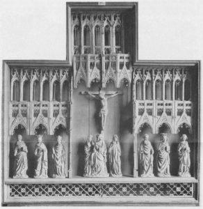 Altaraufsatz, Schrein, Foto: Landesmuseum Hannover, nach 1863