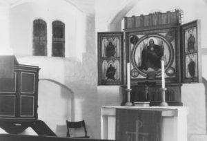 Kapelle, Blick zum Altar, nach 1943