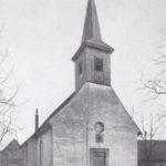 Kirche, Ansicht von Nordwesten, Foto: Helmut Janicki, 1956-58