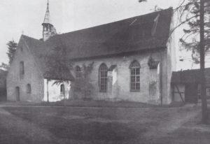 Kirche, Ansicht von Nordwesten, 1964