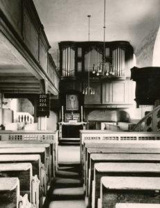 Kirche, Blick zum Altar, 1835 (?)