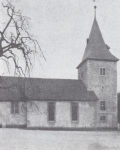 Kirche, Ansicht von Nordosten, 1935