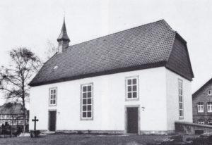 Kirche, Ansicht von Südosten, 1974