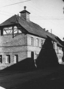 Kapelle, Außenansicht, um 1953