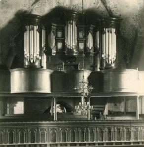 Orgel, vor 1947