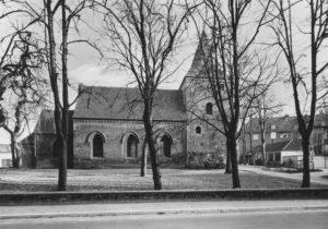 Kirche, Ansicht von Norden, um 1975, Fotograf: H. Engler, Bremerhaven