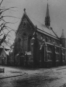 zweite Kirche, Ansicht von Nordosten, vor 1944