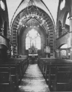 zweite Kirche, Blick zum Altar, vor 1944